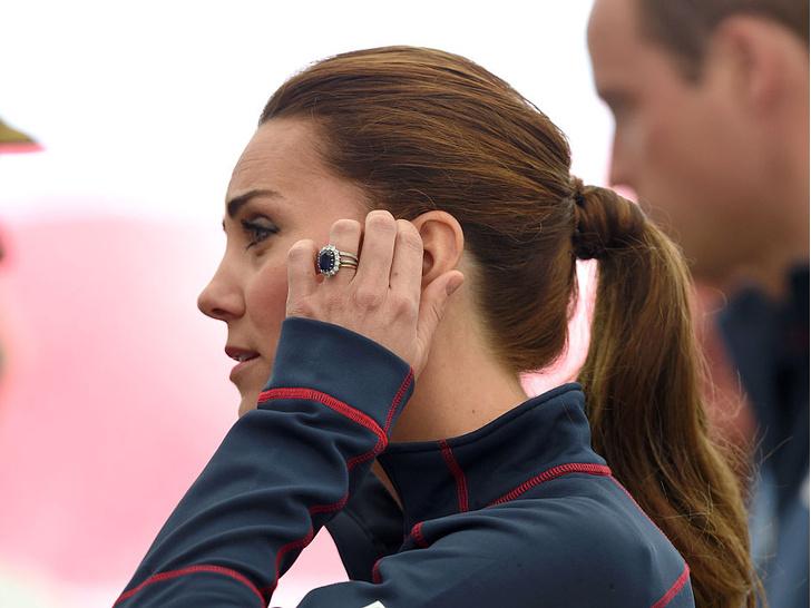 Фото №3 - Зачем герцогине Кейт второе обручальное кольцо
