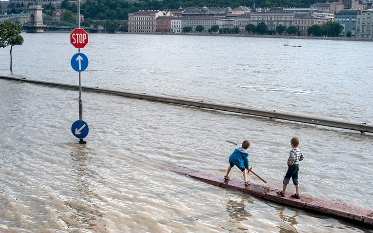Фото №1 - Какие регионы больше всего пострадают от наводнений в ближайшие 25 лет
