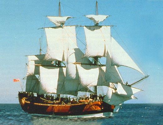Фото №1 - Его Величества барк «Индевор»