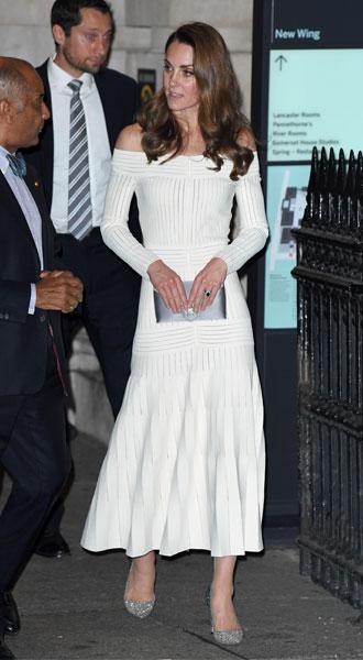Фото №12 - Лучшие образы герцогини Кейт в 2019 году