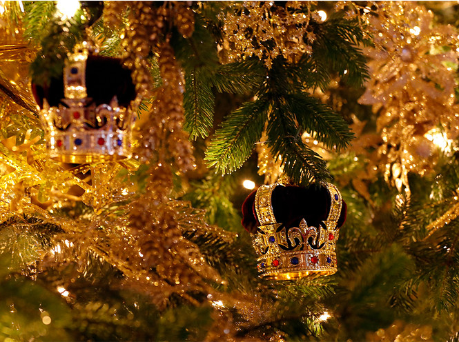 Фото №3 - Праздничное убранство резиденций королей и президентов в ожидании Рождества и Нового года