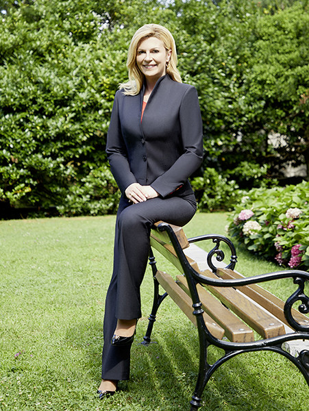 Фото №6 - Колинда Грабар-Китарович: диалог с президентом Хорватии