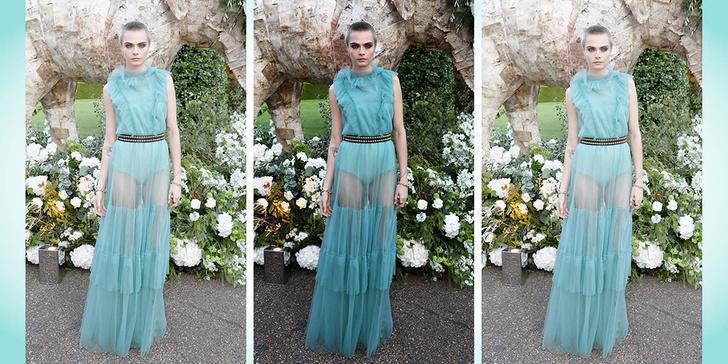 Фото №1 - Кара Делевинь выглядит как принцесса, даже без волос!