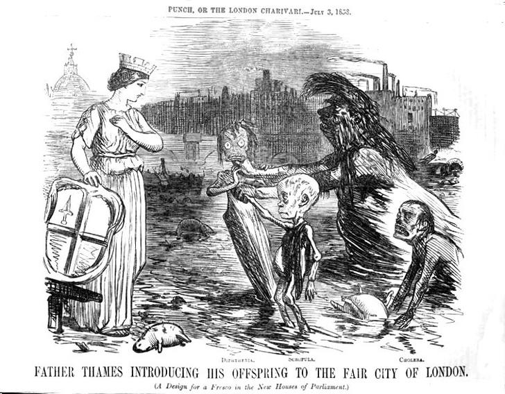 Фото №2 - Великая лондонская вонь: позорные страницы из истории Великобритании