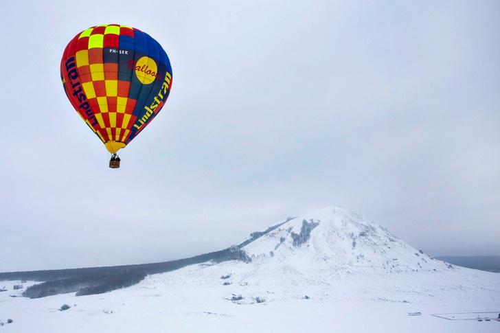 Фото №3 - Зона комфорта: за что воздухоплаватели любят уральскую зиму
