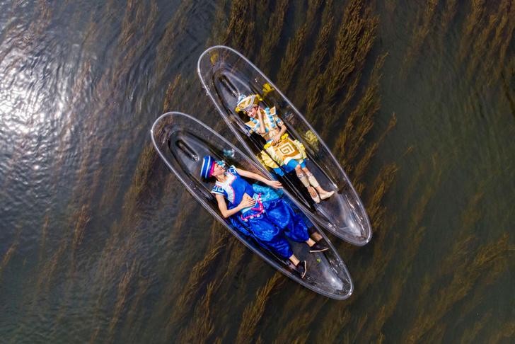 Фото №1 - Лежать на воде