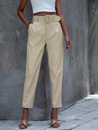 Фото №5 - Где купить цветные кожаные штаны— самый модный хит осени 2021