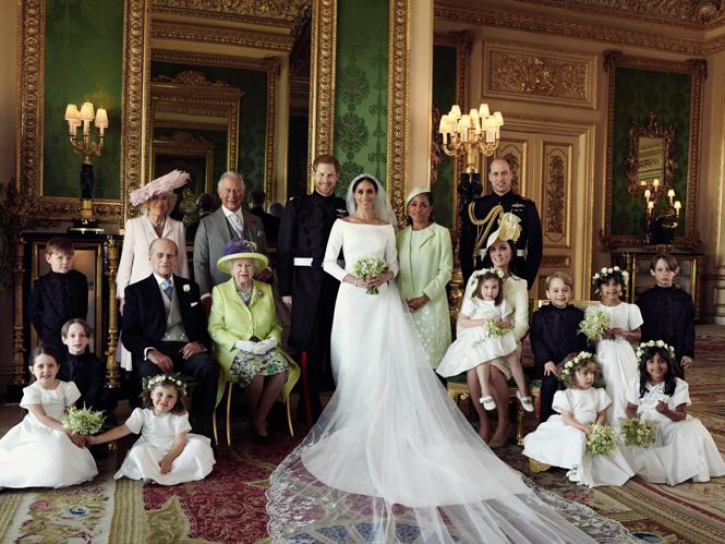 Фото №2 - Почему место отца Меган на свадебном снимке занял принц Уильям