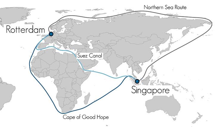 Фото №4 - 12 глубоководных фактов о Суэцком канале— главной морской срезке в истории человечества