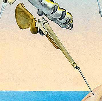 Фото №5 - Дали по Фрейду: «Сон, вызванный полетом пчелы...» с точки зрения психоанализа