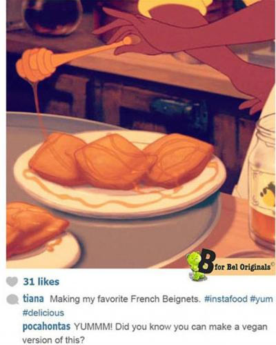 Фото №4 - У принцесс Disney появился Instagram