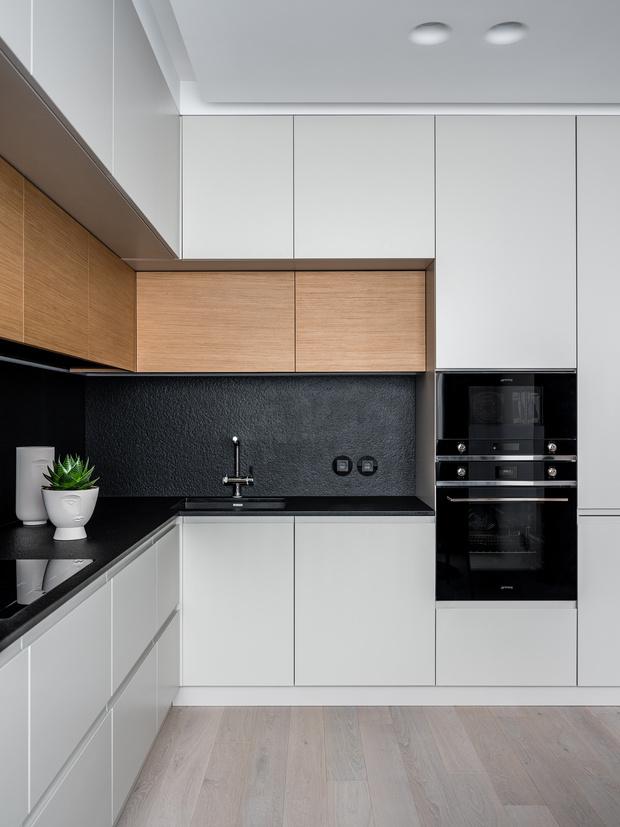 Фото №5 - Лаконичная квартира с черными акцентами