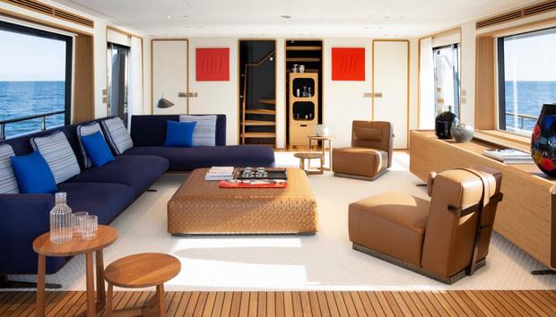 Фото №3 - Яхта с интерьерами студии Антонио Читтерио