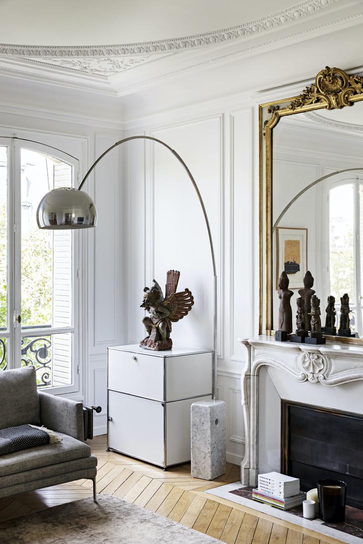 Фото №2 - Квартира с золотыми акцентами в Париже