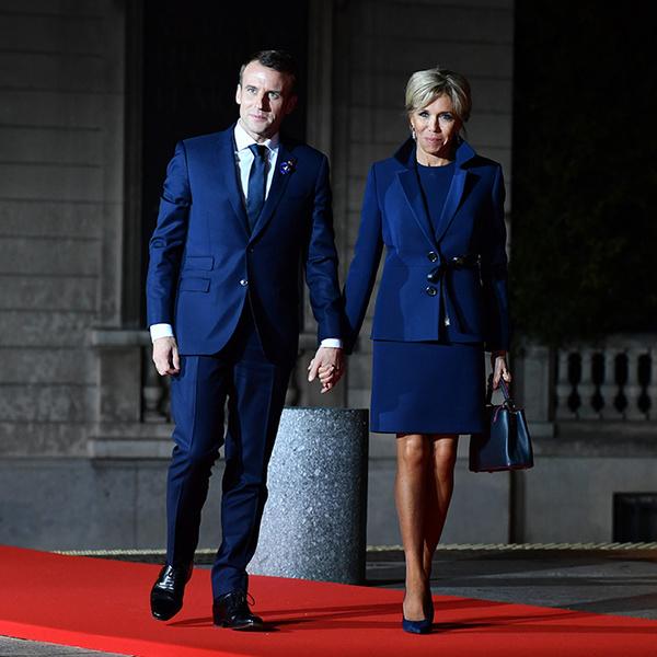 Фото №2 - Боги политического Олимпа: президенты и их жены на званом ужине в Париже