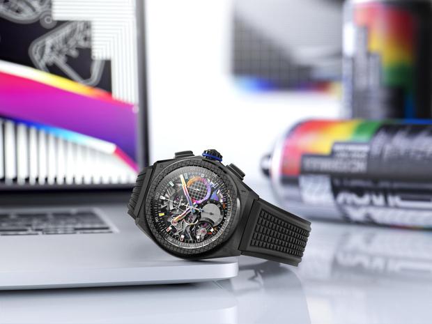 Фото №3 - Крупным планом: часы Zenith, созданные при участии современного художника Фелипе Пантоне