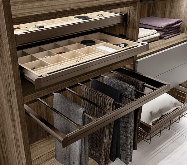 Фото №3 - Первая гардеробная система от Scavolini