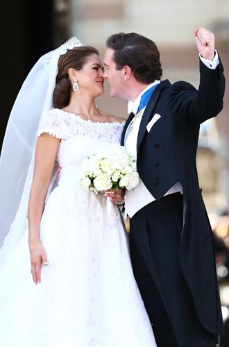Фото №43 - Самые забавные моменты на королевских свадьбах (истории в фотографиях)