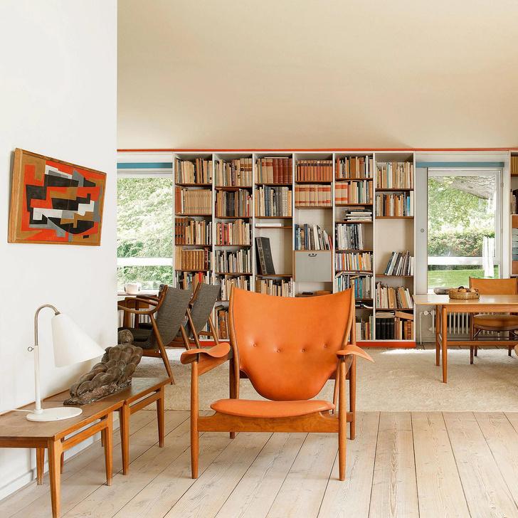 Фото №13 - Дерево в гостиной: идеи и решения