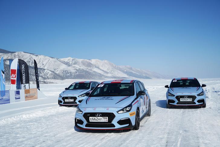 Фото №2 - Hyundai i30 N: отжигает на льду Байкала