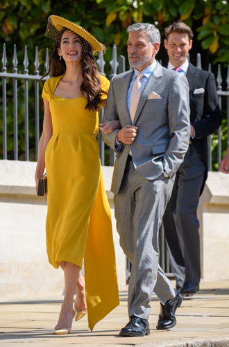 Фото №4 - Как Джордж и Амаль Клуни становятся близкими друзьями Виндзоров
