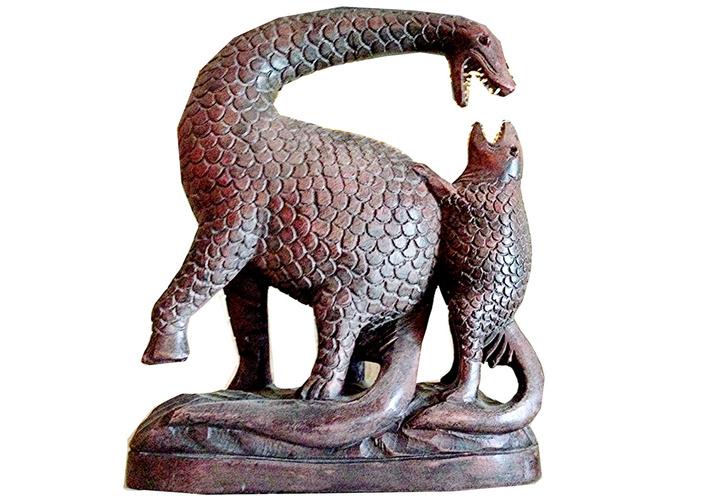 Фото №6 - Эх, хвост-чешуя! Краткая, но всемирная история драконов