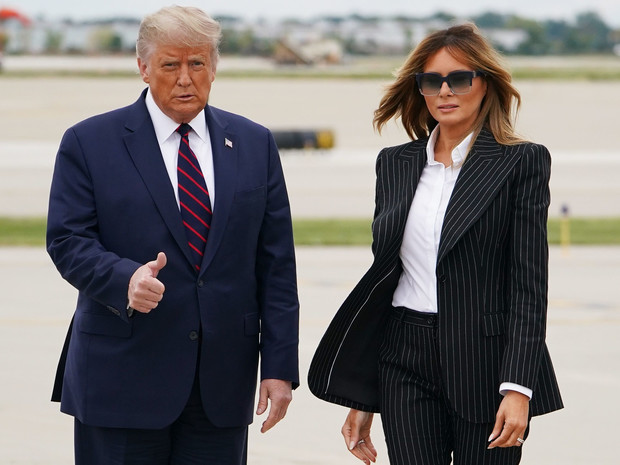 Фото №1 - Претензии жены: главная обида Мелании Трамп на мужа