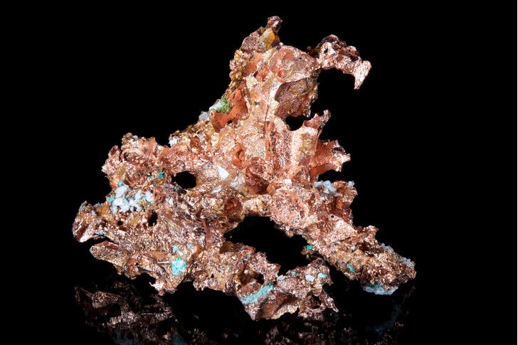 Фото №1 - Обнаружены бактерии, производящие чистую медь