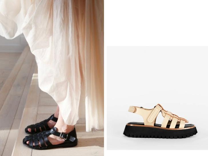 Фото №4 - Рыбацкие сандалии: с чем носить самую модную обувь лета