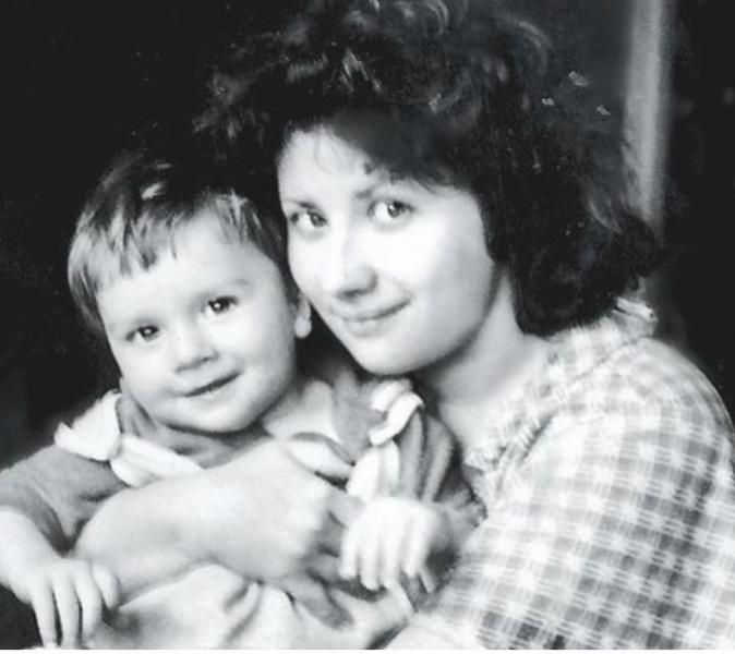 Сергей Лазарев в детстве, детское фото Сергея Лазарева
