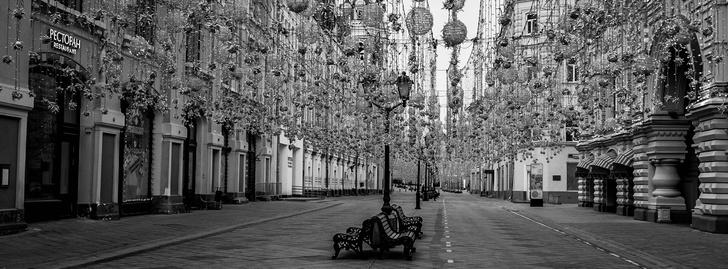 Фото №4 - «Пустая Москва»: фотовыставка о городе во время пандемии