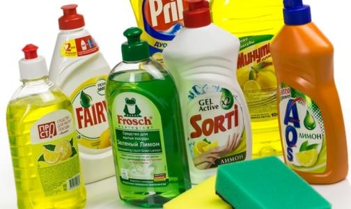 Фото №1 - Специалисты нашли токсичные средства для мытья посуды