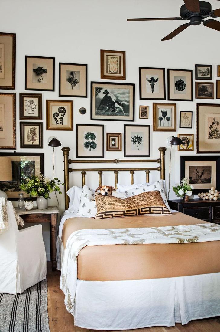 Фото №6 - Стена над изголовьем кровати: 10 идей декора