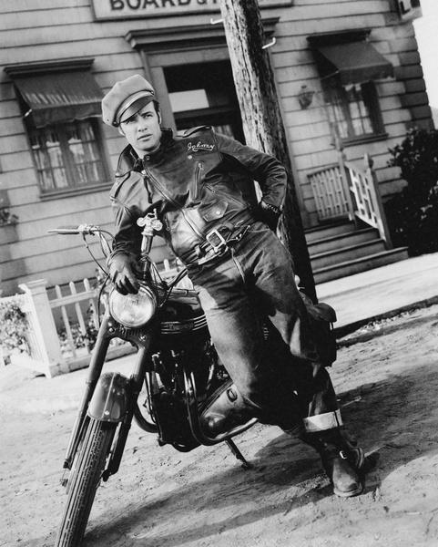 Марлон Брандо в молодости (1954 год), фото