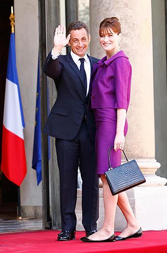 Фото №28 - Первые леди Франции: от Ивонны де Голль до Карлы Бруни-Саркози
