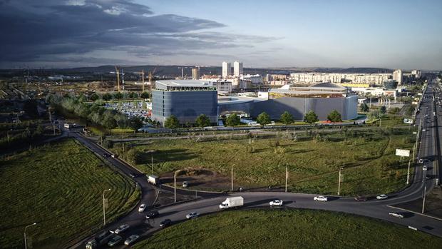 Фото №1 - В Красноярске начали строить аквапарк: узнаем детали будущего проекта