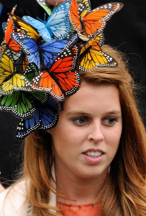 Фото №16 - 25 необычных шляп на королевских свадьбах