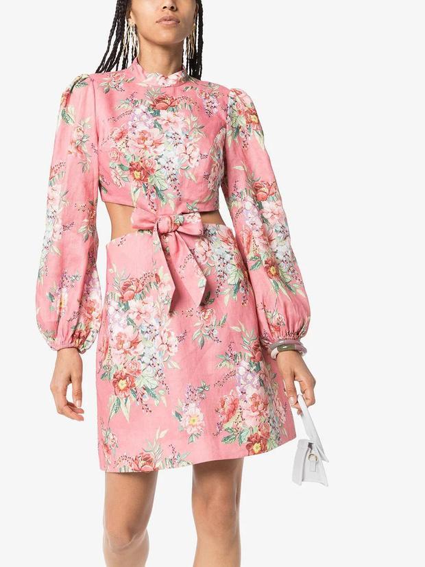Фото №7 - 15 цветочных розовых платьев как у Селены Гомес в новом видео De Una Vez