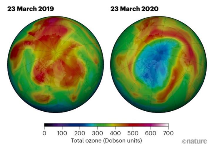 Фото №1 - Над Землей появилась новая гигантская озоновая дыра