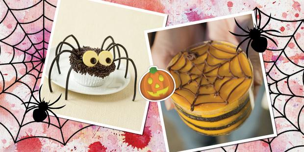 Десерт Паучий пустяк рецепты хэллоуин простые