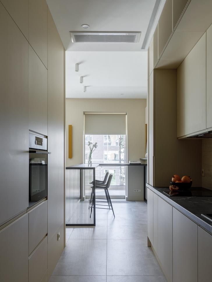 Фото №8 - Апартаменты 56 м² с камином и террасой