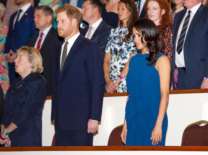 Фото №8 - Немножко беременная: Меган Маркл снова троллит прессу