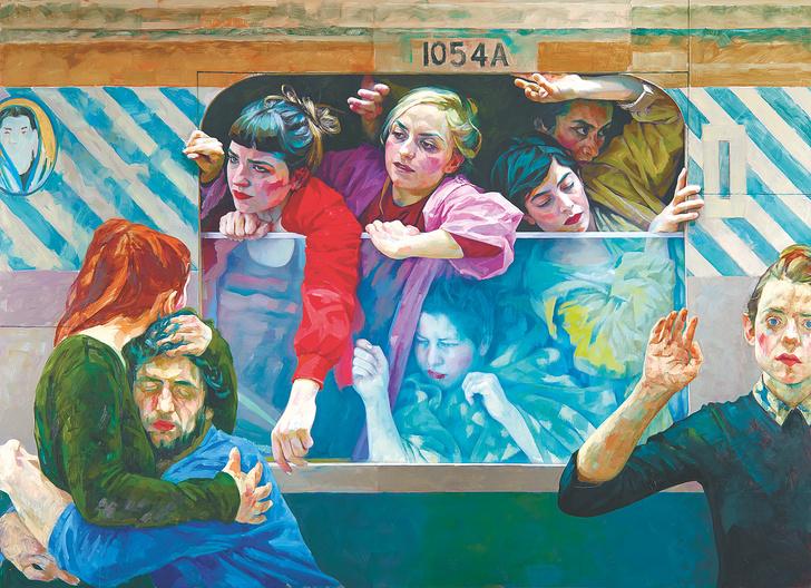 Фото №3 - Выставка австрийской художницы Ксении Хауснер в Пушкинском музее