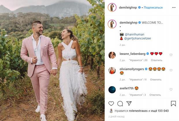 Фото №1 - 32-летний футболист-девственник женился на обладательнице титула «Мисс Вселенная 2017»