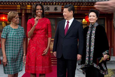 Naeem Khan, Мишель Обама (Michelle Obama), Китай
