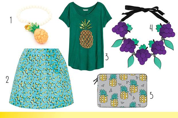 Фото №2 - Топ-10: Вещи с фруктами и в виде фруктов