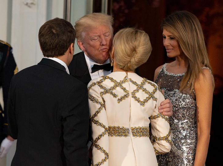Фото №9 - Как Трамп Макрона принимал: самые яркие детали госвизита французской Первой пары в США