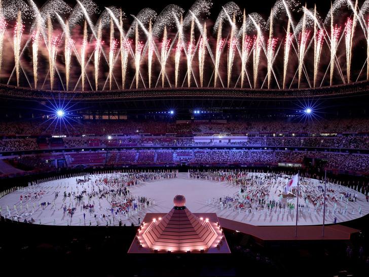 Фото №7 - Как прошло открытие Олимпиады в Токио: самые яркие кадры
