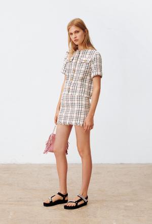 Фото №2 - Домашний дресс-код: стильные платья Maje для онлайн-вечеринки