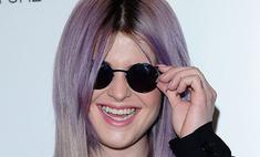 Келли Осборн обязана красить волосы в лиловый